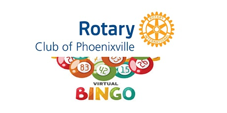 Rotary Club of Phoenixville ZOOM BINGO - December 1, 2020- Support PHX Ed tickets
