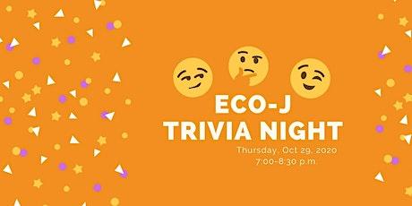 October Eco-J Trivia Night tickets
