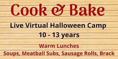 Cook & Bake Halloween Camp - Live Virtual tickets