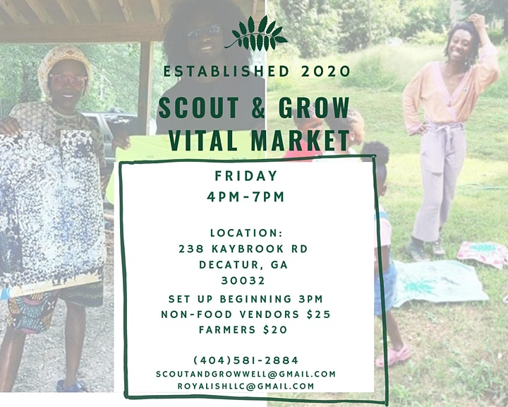 SCOUT AND GROW VITAL MARKET image