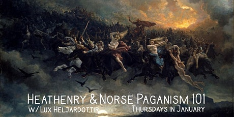 Heathenry & Norse Paganism 101 tickets