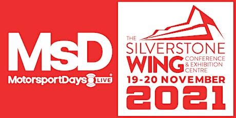 MotorsportDays LIVE 19-20 November 2021 tickets