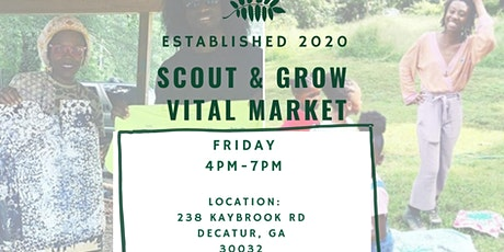 SCOUT AND GROW VITAL MARKET tickets