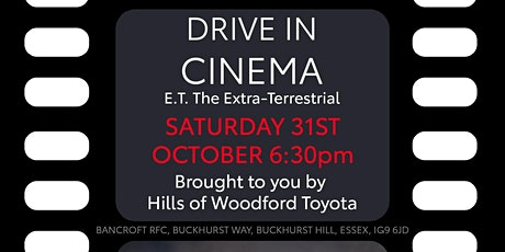 Drive-In Cinema brought to you by Hills of Woodford Toyota tickets
