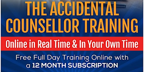 Accidental Counsellor Live Online 08/09/2021 tickets