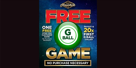 """G"" Ball Game - FREE GAME - October 26, 2020 tickets"