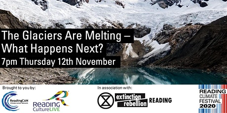 The Glaciers are Melting – what happens next? tickets