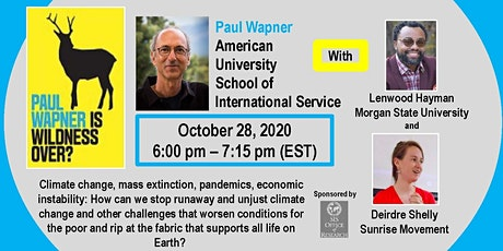 Is Wildness Over? - An SIS-OR Book Event with Dr. Paul Wapner tickets