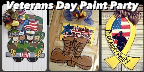 Veterans Day Paint Party tickets