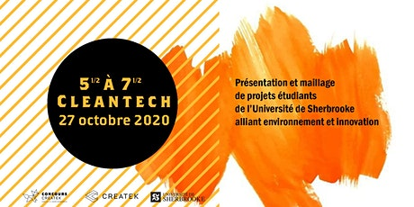 5 1/2  à 7 1/2 Cleantech billets