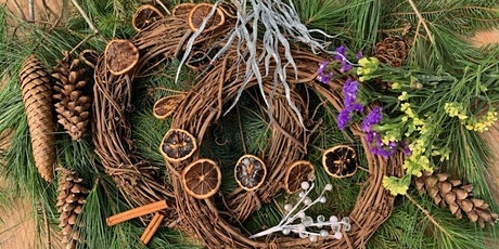 Seasonal Wreath Making Workshop at Point of the Bluff Vineyards tickets