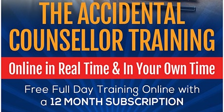 Accidental Counsellor Live Online 10/11/2021 tickets