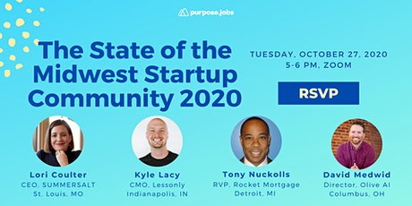 The State of the Midwest Startup Community 2020 tickets