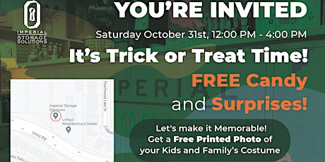 It's Trick or Treat Time! tickets
