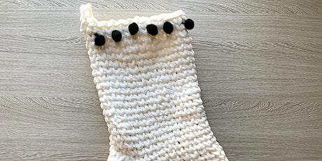 Chunky Christmas Stocking Crochet Workshop | Christmas Workshop | Maryland tickets