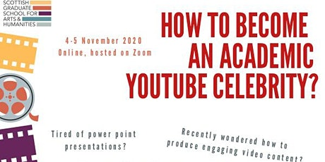 How to Become an Academic YouTube Celebrity tickets