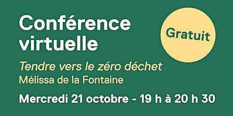 Mélissa de la Fontaine – Tendre vers le zéro déchet billets