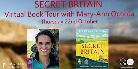 Secret Britain: Virtual Book Tour with Mary-Ann Ochota tickets