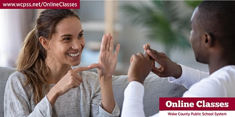 Discover Sign Language - Online Class tickets