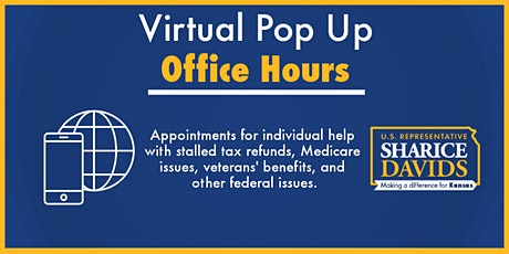 Virtual Pop Up Office Hours