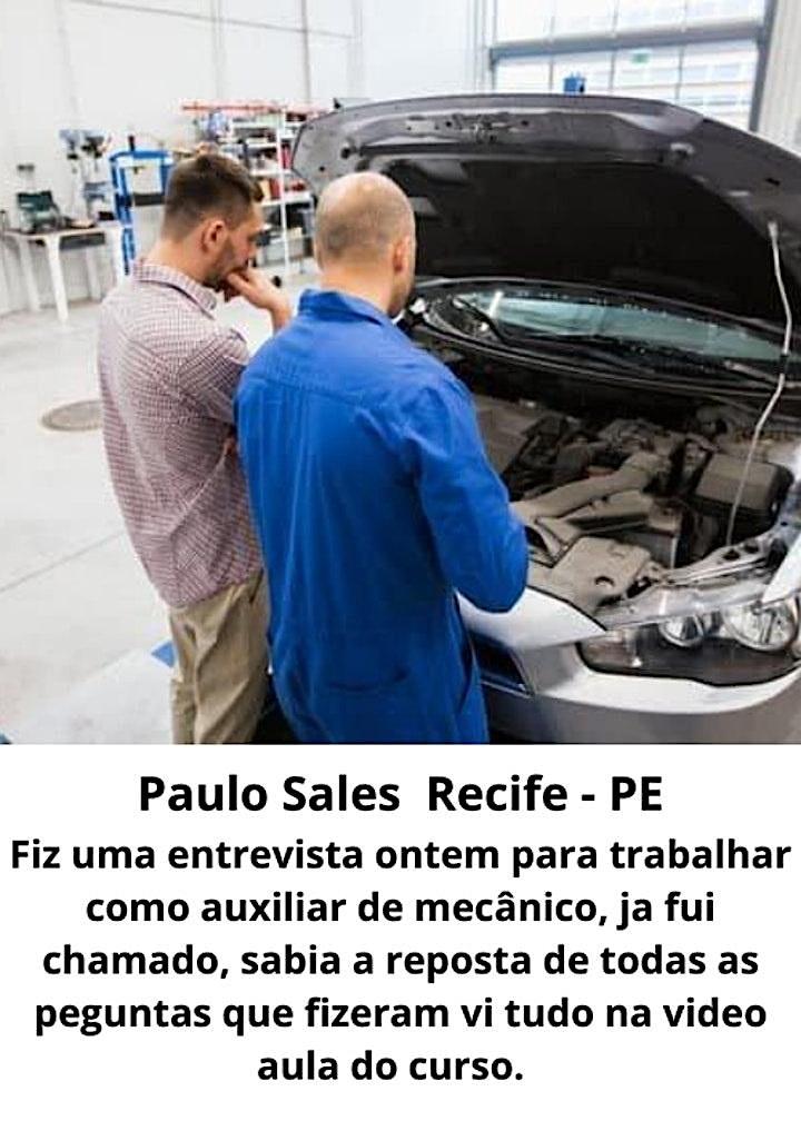 Imagem do evento Curso de mecânica automotiva em Aracaju