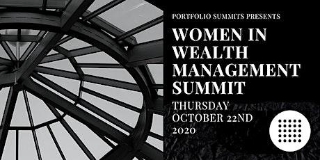 Women in Wealth Management  Summit tickets