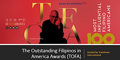 The Outstanding Filipinos in America Awards (TOFA) tickets