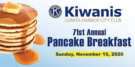 71st Annual Pancake Breakfast tickets