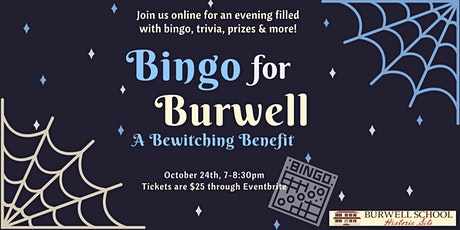 Bingo For Burwell - A Bewitching Benefit tickets