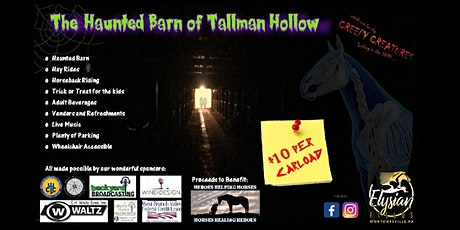 The Haunted Barn of Tallman Hollow tickets