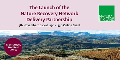 Launch of the Nature Recovery Network Delivery Partnership tickets