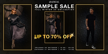 Radical FW20 Sample Sale | Sale up to 70% tickets