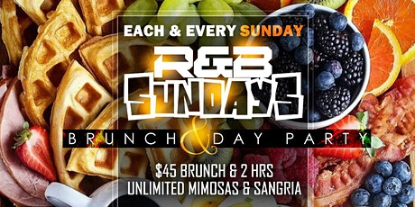 R&B Sundays Bottomless Brunch & Day Party tickets