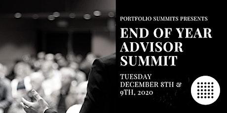 End of Year Advisor  Summit tickets