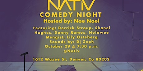 NATIV Comedy Night tickets