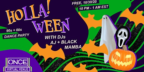 HOLLA!ween 90s + 00s Dance Party x ONCE VV Tickets