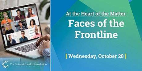 At the Heart of the Matter: Faces of the Frontline tickets