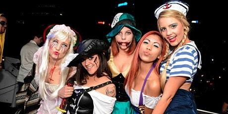 Halloween House Midnight Yacht Party Cruise at Skyport Marina Jewel Yacht tickets