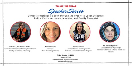 TMWF Webinar Speaker Series: Domestic Violence-Community Responsibility tickets