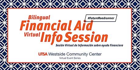 Financial Aid Session- Westside Community Center Virtual Events Series boletos
