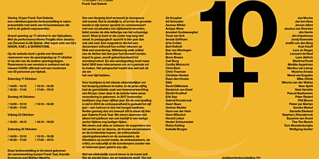 10 + / Chronology at Frank Taal Galerie tickets