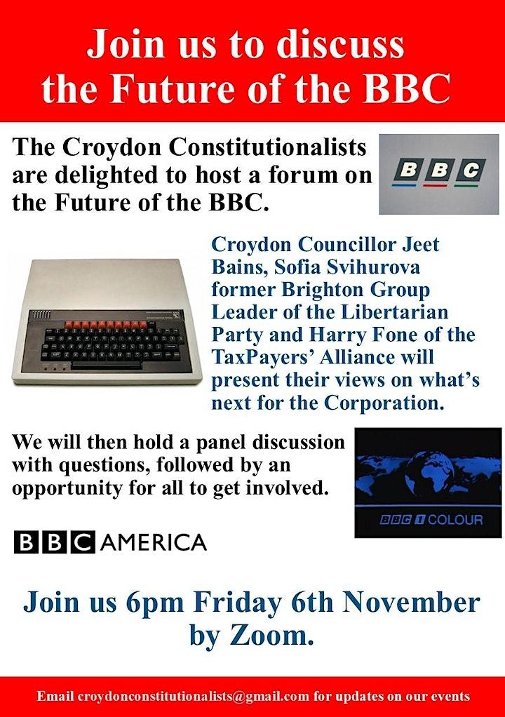 The Future of the BBC image