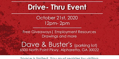 Community Day &  Drive-Thru Job Fair! DJ, GIVEAWAYS, RESOURCES tickets