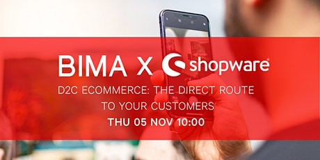 BIMA Hangouts | D2C eCommerce: The Direct Route to Your Customers tickets