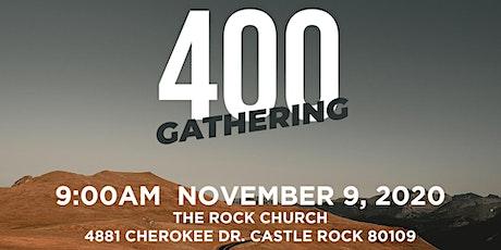 400 Gathering for Colorado tickets