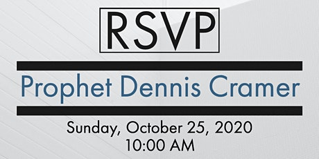 Dennis Cramer tickets