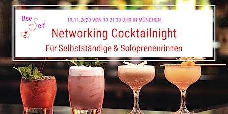 Networking Cocktail Night by BeeSelf für Selbstständige & Solopreneure Tickets