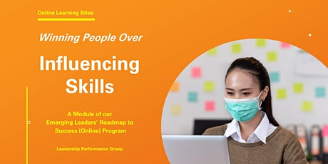 Winning People Over: Influencing Skills (Online - Run 13) tickets