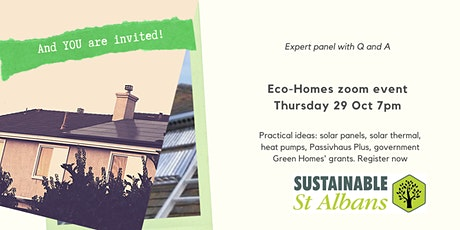 Eco Homes - across St Albans, Harpenden and villages tickets