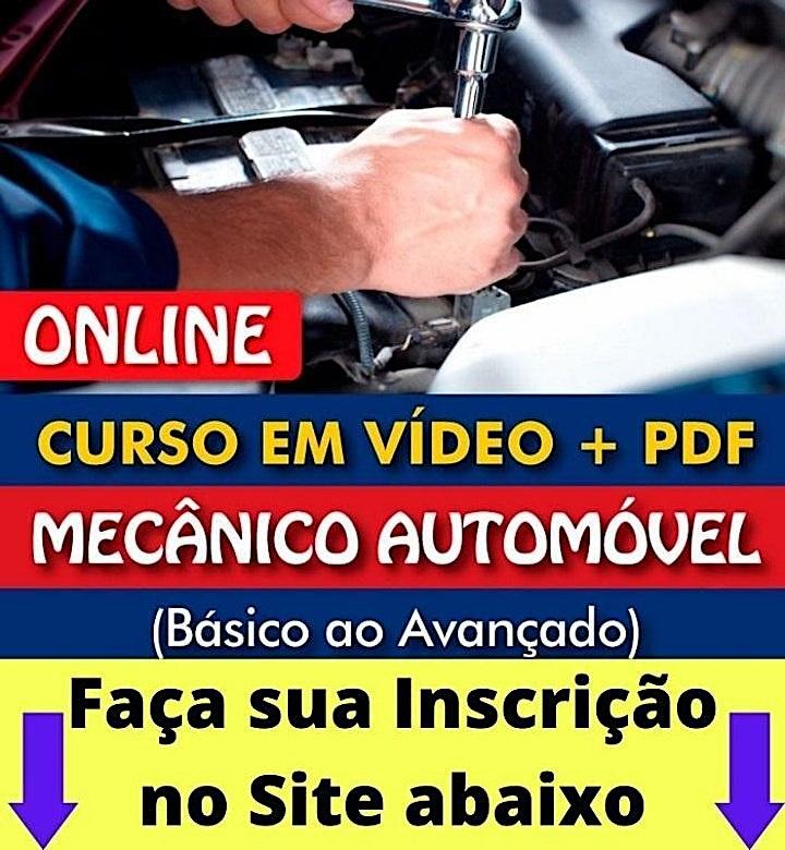 Imagem do evento Curso de mecânica automotiva em Aparecida de Goiânia